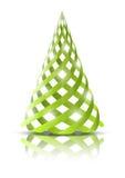 Green Xmas tree Royalty Free Stock Image