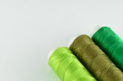 Green yarn  Royalty Free Stock Image