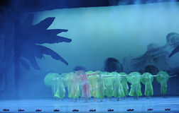 Green years-The second act of dance drama-Shawan events of the past. Guangdong Shawan Town is the hometown of ballet music, the past focuses on the historical Stock Image