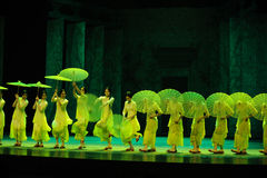 Green years-The second act of dance drama-Shawan events of the past. Guangdong Shawan Town is the hometown of ballet music, the past focuses on the historical Royalty Free Stock Photography
