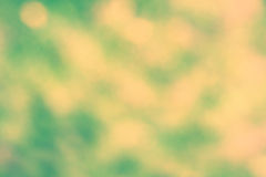 Green and yellow abstarct light spots Royalty Free Stock Images