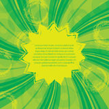 Green yellow abstract background Stock Photo