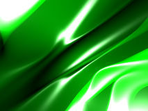 Green yellow abstract background. With folds vector illustration