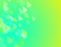 GREEN AND YELLOW ABSTRACT BACKGROUND  WITH LITTLE TRIANGLES. GREEN AND YELLOW  Absstract Background with little triangles cool wallpaper Stock Photography