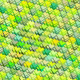 Green yellow abstract pattern Stock Photos