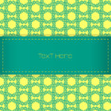 Green and yellow background Royalty Free Stock Images