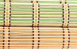 Green and Yellow Bamboo Matt Stock Photo
