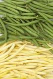 Green and yellow bean Royalty Free Stock Photos