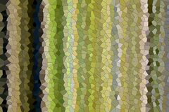 Green yellow blue gray shapes, wax like structure, background Royalty Free Stock Images