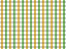 Green and Yellow Tablecloth Seamless Gingham Pattern. Two Color Design vector illustration