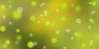 Green and yellow blurred background. bokeh. sunlight. abstract i stock illustration