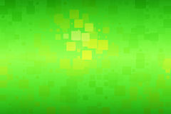 Green yellow brown shades glowing various tiles background stock photo