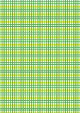 Green and yellow checkered Stock Photos