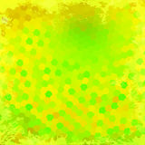 Green and yellow circles Royalty Free Stock Image