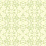 Green And Yellow Damask Royalty Free Stock Images