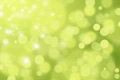 GREEN AND YELLOW DEFOCUSED BOKEH ABSTRACT BACKGROUND Royalty Free Stock Photo