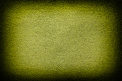 Green and yellow felt background Stock Images