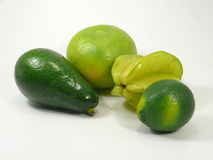 Green and yellow Fruits Stock Photo