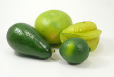 Green and yellow Fruits Royalty Free Stock Photo