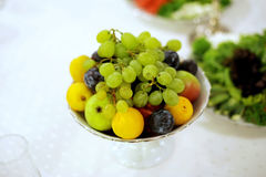 Green and Yellow Fruits Stock Photography