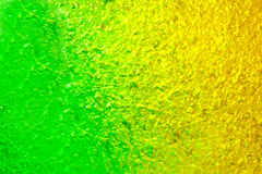 Green and yellow Gel Royalty Free Stock Images