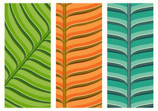 Green and yellow leaf texture. Vector illustration background Stock Photography