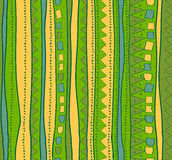 Green and yellow lines Royalty Free Stock Image