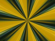 Green and yellow lines abstract. Kaleidoscope created from a photo of a violet Stock Photos