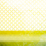Green and yellow minimalistic background Royalty Free Stock Image