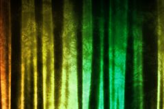 Green Yellow Music Inspired DJ Abstract Background Stock Images