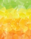 Green Yellow Orange Polygons Royalty Free Stock Photos