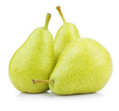Green yellow pears Stock Image
