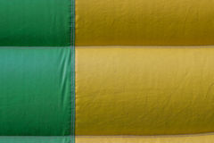 Green yellow PVC tarpaulin detail background Stock Image
