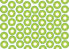 Green and yellow rounds Stock Photos