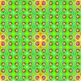 Green Yellow Seamless Pattern stock illustration