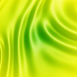 Green and yellow silk Royalty Free Stock Photography