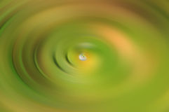 Green and yellow swirl Royalty Free Stock Photos