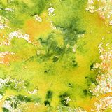 Green Yellow Watercolor Splash Background Royalty Free Stock Photo