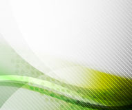 Green and yellow wave layout Stock Image
