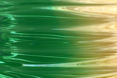 Green and Yellow Waves. Abstract Background royalty free illustration