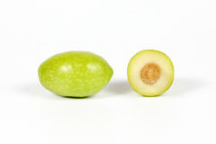 Green young olive Stock Photo