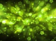 green zamazująca tło Fotografia Royalty Free