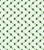 Green zigzag blossom pattern structure  Stock Image