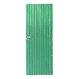Green Zinc Door Royalty Free Stock Image