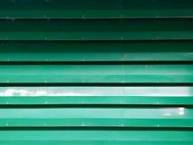 Green zinc metal sheet. Background stock images