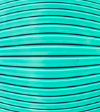 green zinc wall Stock Photography