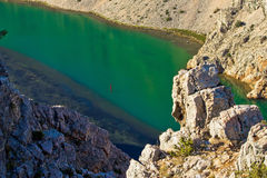 Green Zrmanja river in canyon Stock Photo