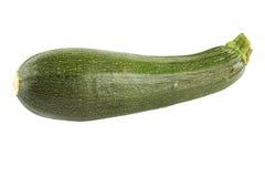 Green zucchini. Fresh green zucchini isolated on white Royalty Free Stock Image