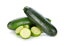 Green zucchini vegetables Royalty Free Stock Photos