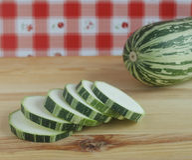 Green zucchini Royalty Free Stock Photography